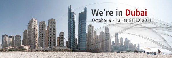 Shyam at GITEX, Dubai: October 9-13, 2011